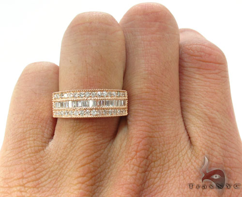 Brilliant Engagement Ring for Men with Diamonds Style