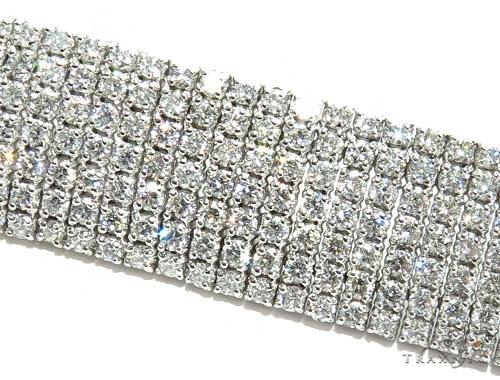 Bronze Diamond & Gold Bracelet 41697 Diamond