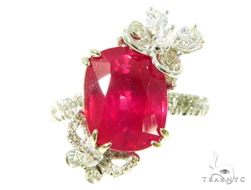 Buttefly Ruby Diamond Anniversary/Fashion Ring 49005 Anniversary/Fashion
