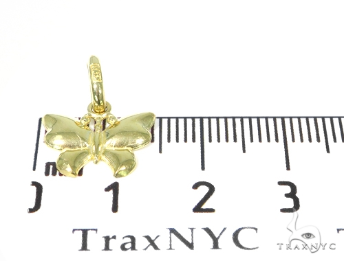 Butterfly Gold Necklace 44805 Gold