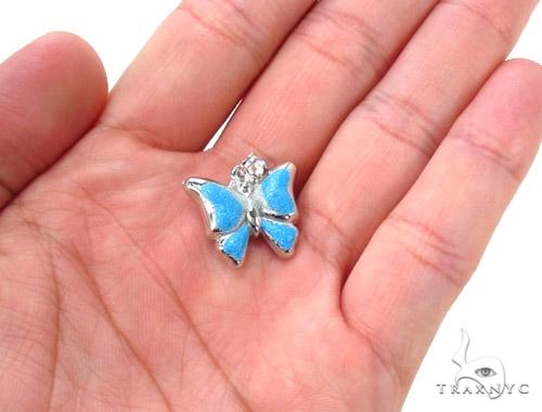 Butterfly Silver Pendant 36348 Metal