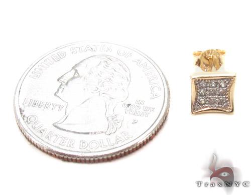 CZ 10K Gold Earrings 33248 Metal