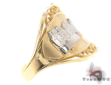 CZ 10K Gold Last Supper Ring 33564 Anniversary/Fashion