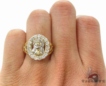 CZ 10K Gold Ring 33212 Metal