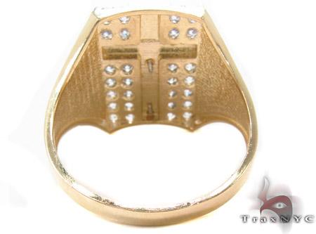 CZ 10K Gold Ring 33217 Metal
