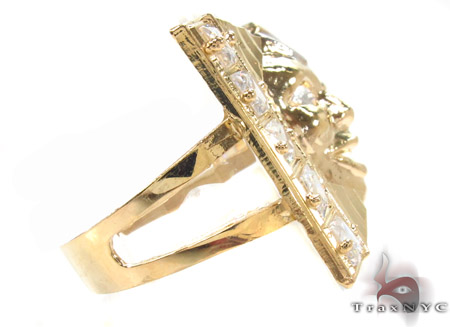 CZ 10K Gold Ring 33229 Metal