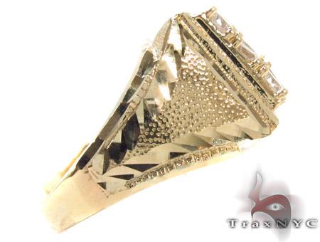 CZ 10K Gold Ring 33252 Metal
