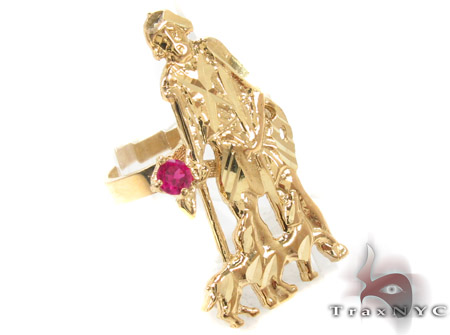 CZ 10K Gold Ring 33265 Metal