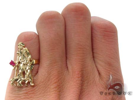 CZ 10K Gold Ring 33265 Metal