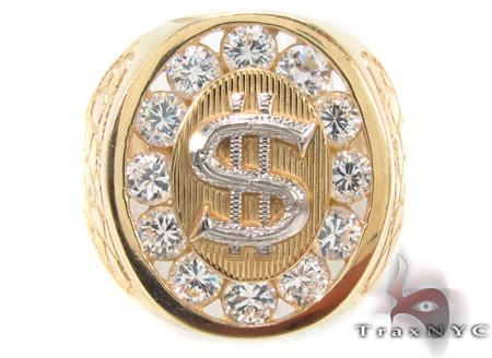 CZ 10K Gold Ring 33267 Metal