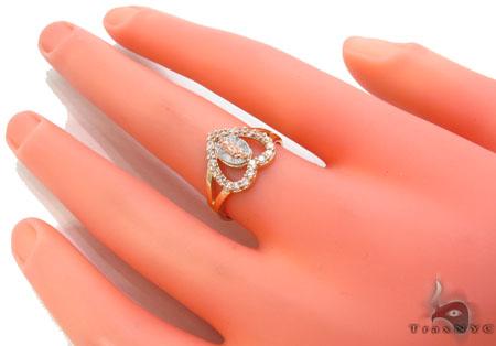 CZ 10K Gold Ring 33629 Anniversary/Fashion
