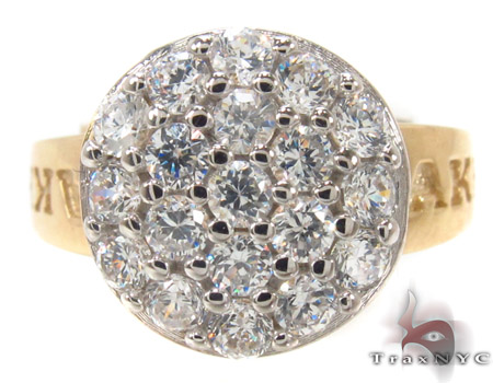 CZ 10k Gold Ring 33341 Anniversary/Fashion