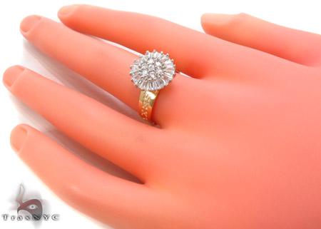 CZ 10k Gold Ring 33343 Anniversary/Fashion