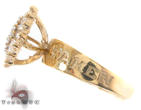CZ 10k Gold Ring 33344 Anniversary/Fashion