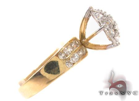 CZ 10k Gold Ring 33345 Anniversary/Fashion
