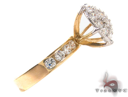 CZ 10k Gold Ring 33350 Anniversary/Fashion