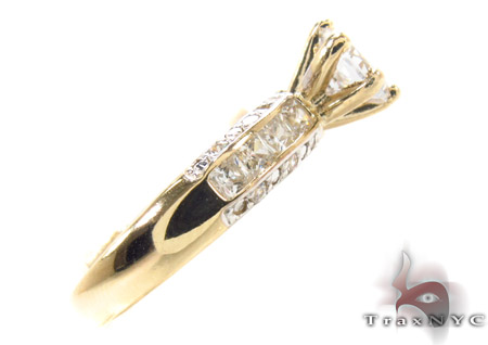 CZ 10k Gold Ring 33355 Anniversary/Fashion