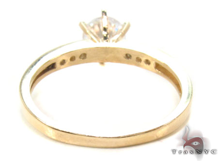 CZ 10k Gold Ring 33379 Anniversary/Fashion