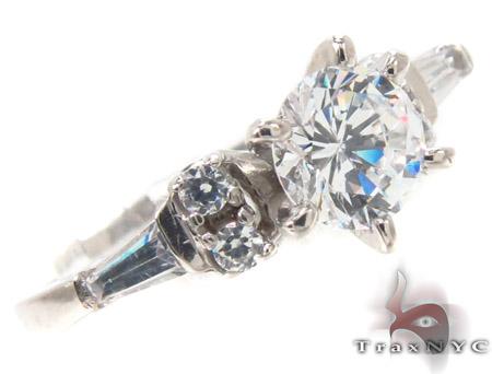 CZ 10k Gold Ring 33466 Anniversary/Fashion