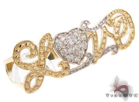 CZ 10k Gold Ring 33490 Anniversary/Fashion