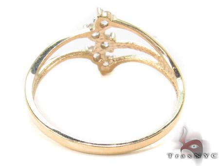 CZ 10k Gold Ring 33538 Anniversary/Fashion