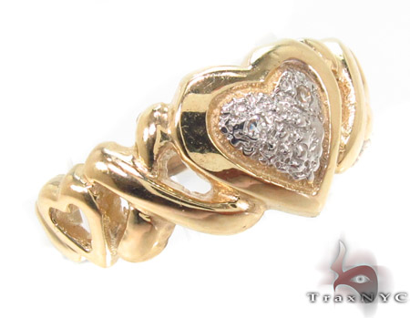 CZ 10k Gold Ring 33541 Anniversary/Fashion
