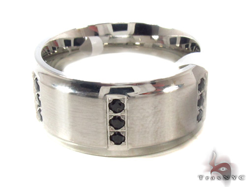 CZ Stainless Steel Ring 35540 Metal