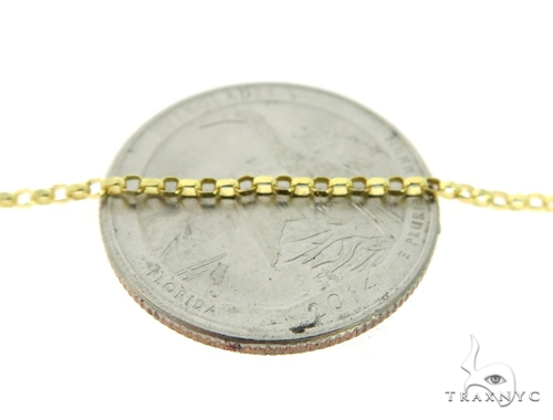 Cable 10k Yellow Gold Chain 20 Inches 1mm 2.9 Grams 49837 Gold