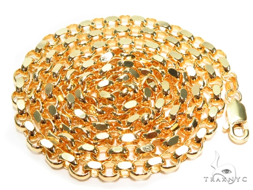 Cable Gold Chain 20 Inches 3mm 19.2 Grams 40916 Gold