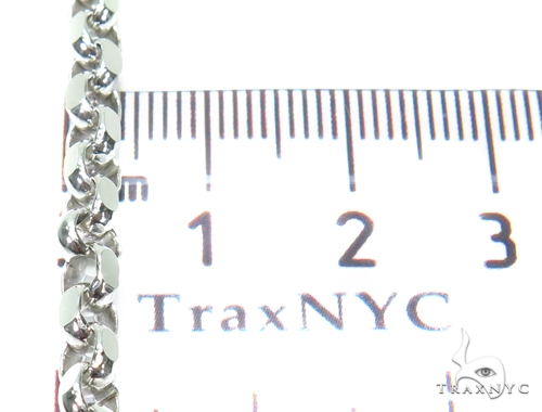 Cable Gold Chain 22 Inches 4mm  30.6 Grams 40922 Gold