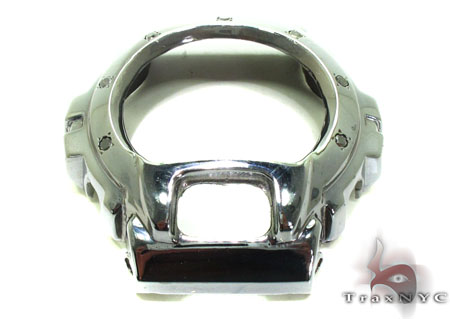 Casio G-Shock Black Silver Black Diamond Case G-Shock