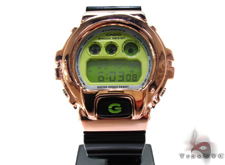 Casio G-Shock Rose Tone Silver Case G-Shock