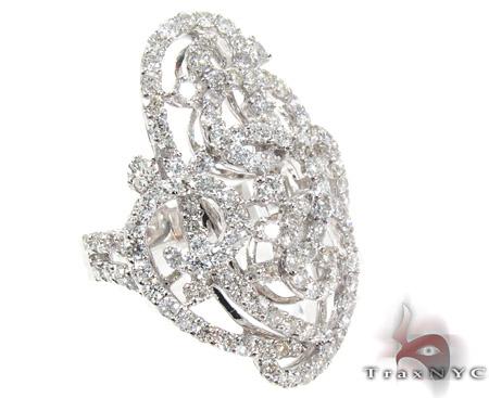 Cage Diamond Ring Anniversary/Fashion