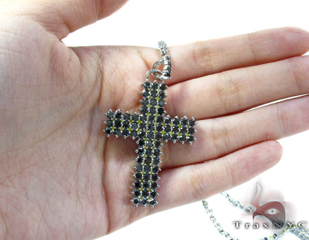 Canary Black Diamond Rosary Chain Rosary