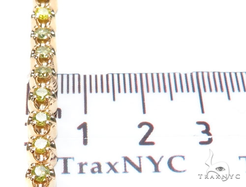 Canary Diamond Bracelet 9285 Diamond