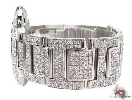 Cartier Ballon Bleu Stainless Steel Diamond Watch Cartier