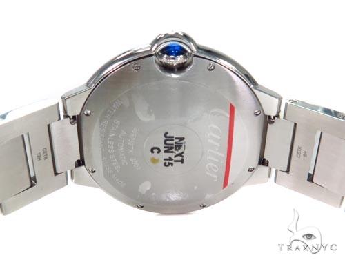 Cartier Ballon Bleu Stainless Steel Diamond Watch 45218 Cartier