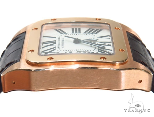 Cartier Men's Santos 100 Watch 41117 Cartier