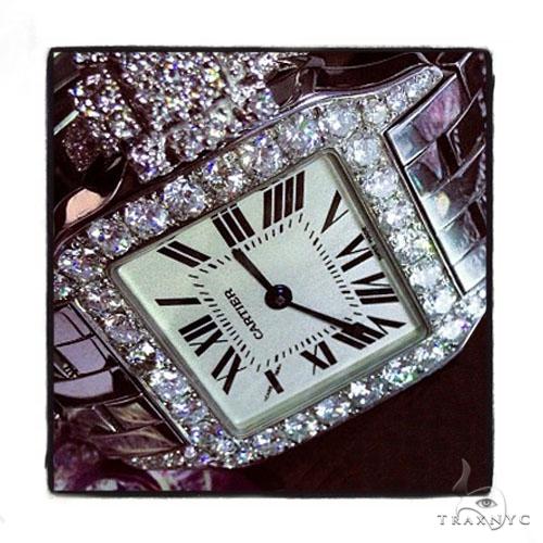 Cartier Mid Size Santos Demoiselle Watch Cartier