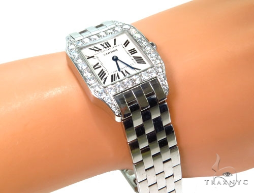 Cartier Mid Size Santos Demoiselle Watch Cartier