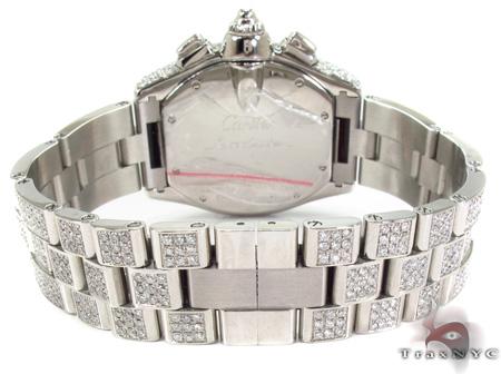 Cartier Roadster Chronograph Black Dial Diamond Watch Cartier