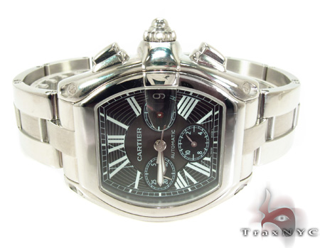 Cartier Roadster XL Chronograph Black Dial Watch Cartier