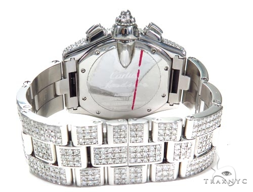 Cartier Roadster XL Chronograph Black Dial Watch 45219 Cartier
