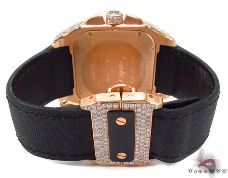 Cartier Santos 18K Rose Gold Watch Cartier