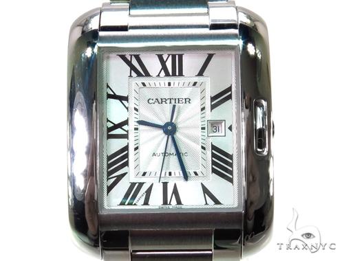 Cartier Tank Anglaise Medium Ladies Watch W5310009 Cartier
