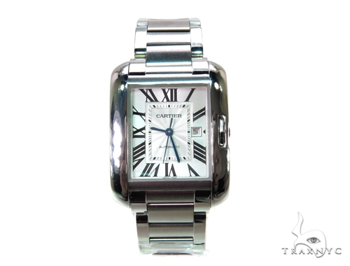 Cartier Tank Anglaise Medium Ladies Watch W5310009 Cartier