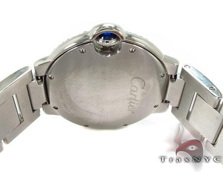 Cartier Ballon Bleu Full Diamond Automatic Watch Cartier