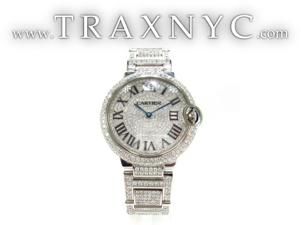 Cartier Ballon Bleu Diamond Watch Price