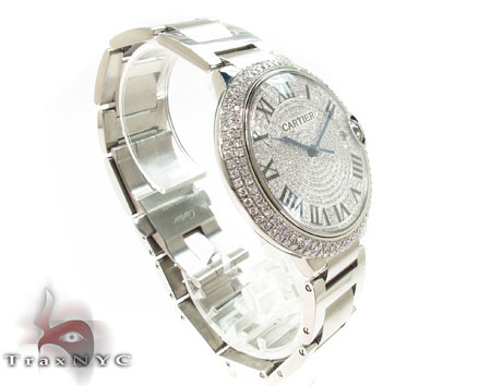 Cartuer Ballon Bleu Stainless Steel Automatic Watch Cartier