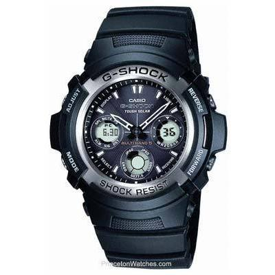 Casio g shock atomic solar watch awg100 1a g shock watches